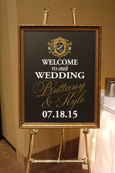 Brittany&Kyle_WelcomeSign_web