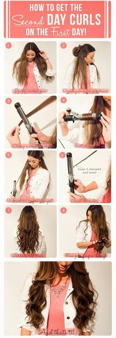 Hair Easy Curls Awesome Ideas For 2019 Pretty Hairstyles, Braided Hairstyles, Wedding Hairstyles, Hairstyle Men, Funky Hairstyles, Formal Hairstyles, Braided Updo, Easy Curls, Soft Curls