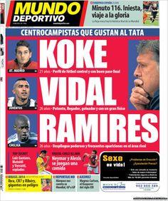 Los Titulares y Portadas de Noticias Destacadas Españolas del 19 de Noviembre de 2013 del Diario Mundo Deportivo ¿Que le pareció esta Portada de este Diario Español?