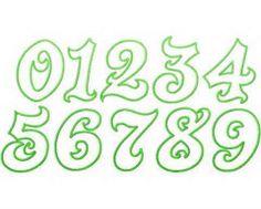Graffiti Numbers – Seven Graffiti Style graffiti letters number ...