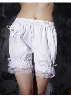 bloomers. so cute and sweet. wear under skirts instead of slips.