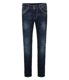 CAMP DAVID Bootcut-Jeans für 99,95€. Regular Fit, Low Waist, 5-Pocket-Style, Münztasche mit waagerechtem Knopfloch, Leder Badge hinten bei OTTO