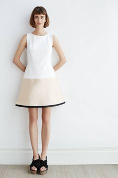 Gold-Dipped Mini Dress - anthropologie.com #anthrofave