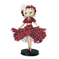 Betty Boop Dolls | ... » Betty Boop™ Rhumba Porcelain Collector Doll by Syd Hap