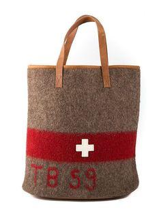 Swiss Army Blanket Shopper Bag WD19