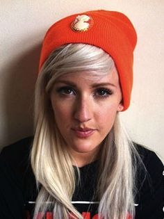 ellie in silver spoon attire vintage cameo beanie
