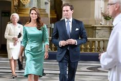 Banns of Princess Madeleine and Mr. Christopher O'Neill in the Royal Chapel - Royal Court