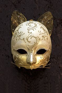 Egyptian Cat venetian mask for sale