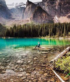 "Wilderness Culture on Instagram: ""Moraine Lake, Banff National Park #Canada Photo: @christinhealey #wildernessculture"""