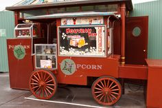 Who doesn't like Popcorn? A cart to be used as reference for a 3D Modeling project.