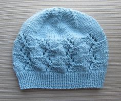 Ravelry: Hat in Lacy Branches Stitch for a Lady pattern free pattern