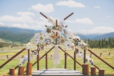 Flowers, Design and Wedding Coordination #LoveThisDayEvents Photography #TaylorLordPhotography  Venue #DevilsThumbRanch
