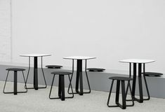 Find out all of the information about the Pro Urba product: contemporary high bar table / wooden / round MIRAMONDO : HPL HOT SHOT HPL . Table Haute Bar, High Bar Table, Street Furniture, Hot Shots, Bar Stools, Armchair, Outdoor Furniture, Contemporary, Rubber