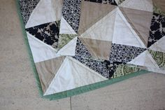 How to triangle quilt