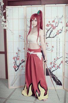 Erza Scarlet. Fairy Tale. Anime