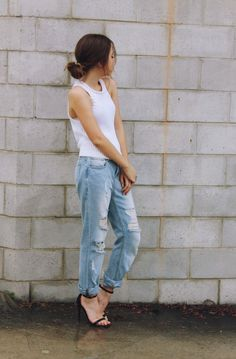 Whites and denim