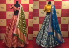 Baneras zari lehengas for the south north!