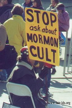 please ask i would love to tell you about the lds cult