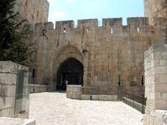 باب يافا - القدس العتيقة - فلسطين Jaffa Gate In Old Jerusalem - Bing Images