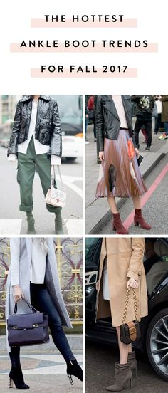 22af4a81c16 These Are the 5 Hottest Ankle Boot Trends for Fall 2017