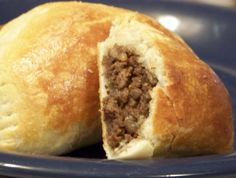 I grew up next to a woman from chile. She would make great empanadas!! This recipe is very close to hers! Very tasty and different! This is an easy recipe in that it uses refrigerated biscuits instead of a homemade dough.