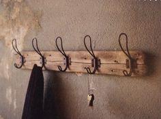 L~Drift Wood Coat Rack.