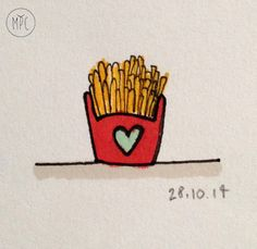 #graphic #architecture #drawings #design #typography #lettering #hand #grafica #disegno #china #tria #handlettering #manolibera #font #pantoni #pantone #madeinitaly #patatine #chips #frenchfries #fries