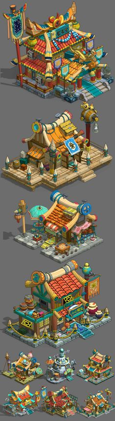 재료를 손질 N428 게임 아트 자원 / 2D 장면 ...