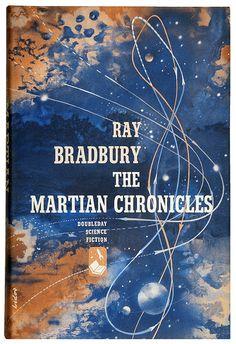The Martian Chronicles, Ray Bradbury ((First edition, 1950), cover art by Arthur Lidov