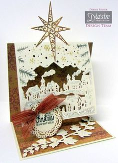 Create-A-Card Christmas Village by me