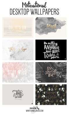 Here's a collection of beautiful Motivational Desktop Wallpapers, all free to…