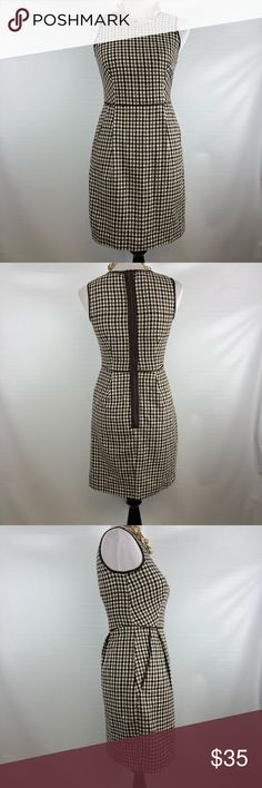 ABS by Allen Schwartz Wool blend Dress Beautiful ABS dress. Great pre owned condition. No holes or stains. Size 0.  Check last picture for measurements  B-I ABS Allen Schwartz Dresses