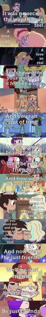 """Never just friends we need to stop this """" just friends """" with starco"""