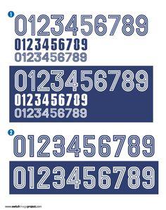 Adidas Retro kit fonts 1