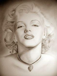 omaggio alla divina Marilyn - Alessio Atzeni