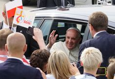 Cars used by Pope Francis in Poland during the Catholic Church's World Youth Day festival went under the hammer Monday to raise funds for Syrian refugees.  The Polish chapter of the Catholic charity Caritas is auctioning off the three vehicles used by the pontiff in July, with online bidding to continue