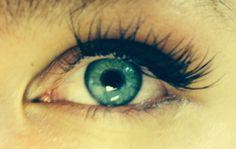 individual eyelashes like this.  Wake up looking this good every morning.