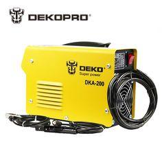 Dekopro DKA-120 800 Вт 120A 21 s IP AC электрической дуги сварочный аппарат mma сварки для сварки рабочей и электрический рабочая Цена: US $100.79 - 114.27 / шт. Цена со скидкой: US $69.55 - 78.85 / шт.  -31%