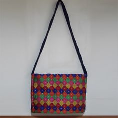 Gift your near and dear ones this stylish Ethnic hand made laptop bag.