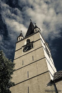 Cathedral in Sibiu city.