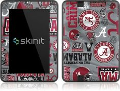 Skinit Alabama Pattern Print Skin Vinyl Skin for Amazon Kindle Fire HD 7 by Skinit. $19.99. IMPORTANT: Skinit skins, stickers, decals are NOT A CASE. Our skins are VINYL SKINS that allow you to personalize and protect your device with form-fitting skins. Our adhesive backing can be applied and removed with no residue, no mess and no fuss. Skinit skins are engineered specific to each device to take into account buttons, indicator lights, speakers, unique curvature an...