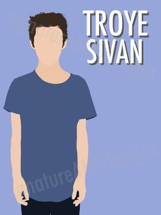 Minimalist Digital Artwork of YOUTUBER - Troye Sivan. ( 11.7x16.5 inches / A3 ) - troye sivan | TRXYE | tyler oakley | youtube | connor franta | Australia | singer | kian lawley | jc Caylen | Ricky Dillon | Trevor Moran | zoella | Zoe sugg | joe sugg | thatcher joe | marcus butler | jack and finn harries | Youtuber | poster | print | minimalist | art | Tanya burr | Alfie deyes | Casper lee