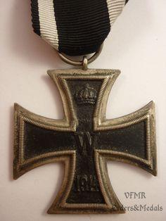 Germany - Iron Cross 2nd Class (World War I), maker KO