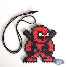 dead pool perler - Google Search