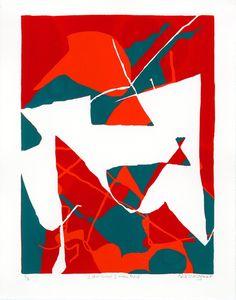 "Saatchi Online Artist: Alex Waggoner; Screen-printing, Printmaking ""I Did What I Was Told"""