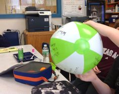 Having A Ball In Lunch Bunch.  A inexpensive group counseling toy!