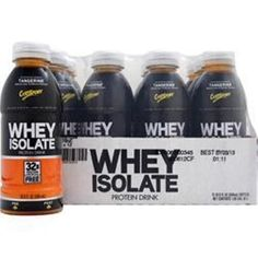 You Get More & Better Quality Supplements for your Money!  Buy 1-2-3-4 CYTOSPORT Whey Isolate Protein RTD in 12 bttls pack ready to drink  #Cytosport