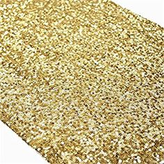Amazon.com: TRLYC Sequin Table Runner, 13 by 60-Inch Sequin Tablecloths, Gold: Kitchen & Dining