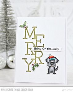 Very Merry Christmas, Christmas And New Year, Card Making Inspiration, Making Ideas, Christmas Inspiration, Joy Taylor, Seasonal Image, Mft Stamps, Winter Cards