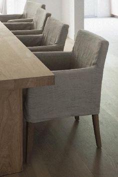 Krzesło z podłokietnikami Bleeker Street cm szare Furniture Fix, Concrete Furniture, Home Interior, Interior Styling, Interior Design, Diner Table, Lets Stay Home, Dining Table Chairs, Furniture Inspiration